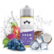 Boom  scandal 120ml flavor shots